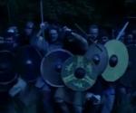 Vikings, battle, swords